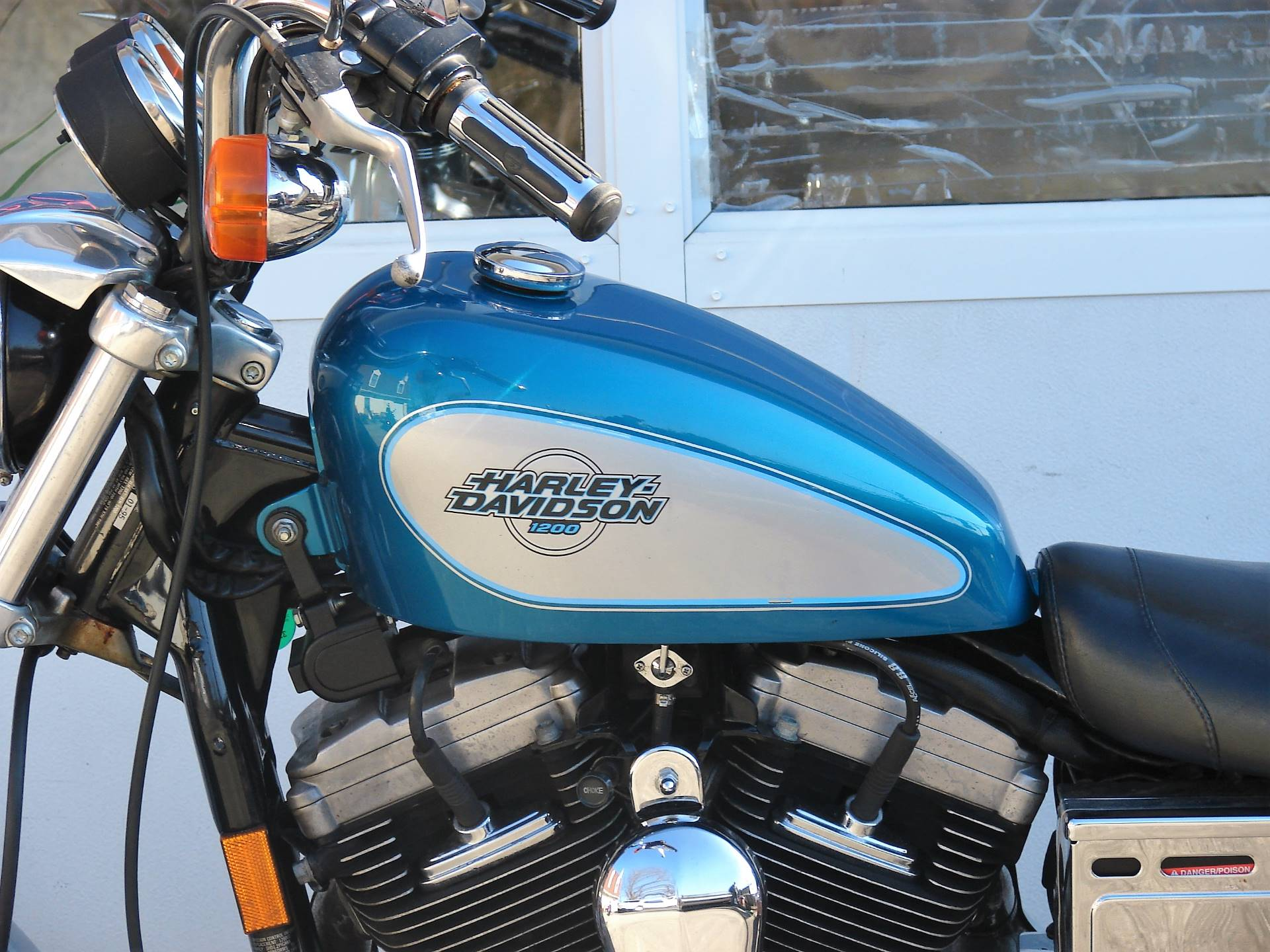 1995 Harley-Davidson 1200 Sportster  (Teal Blue and Silver) in Williamstown, New Jersey - Photo 7