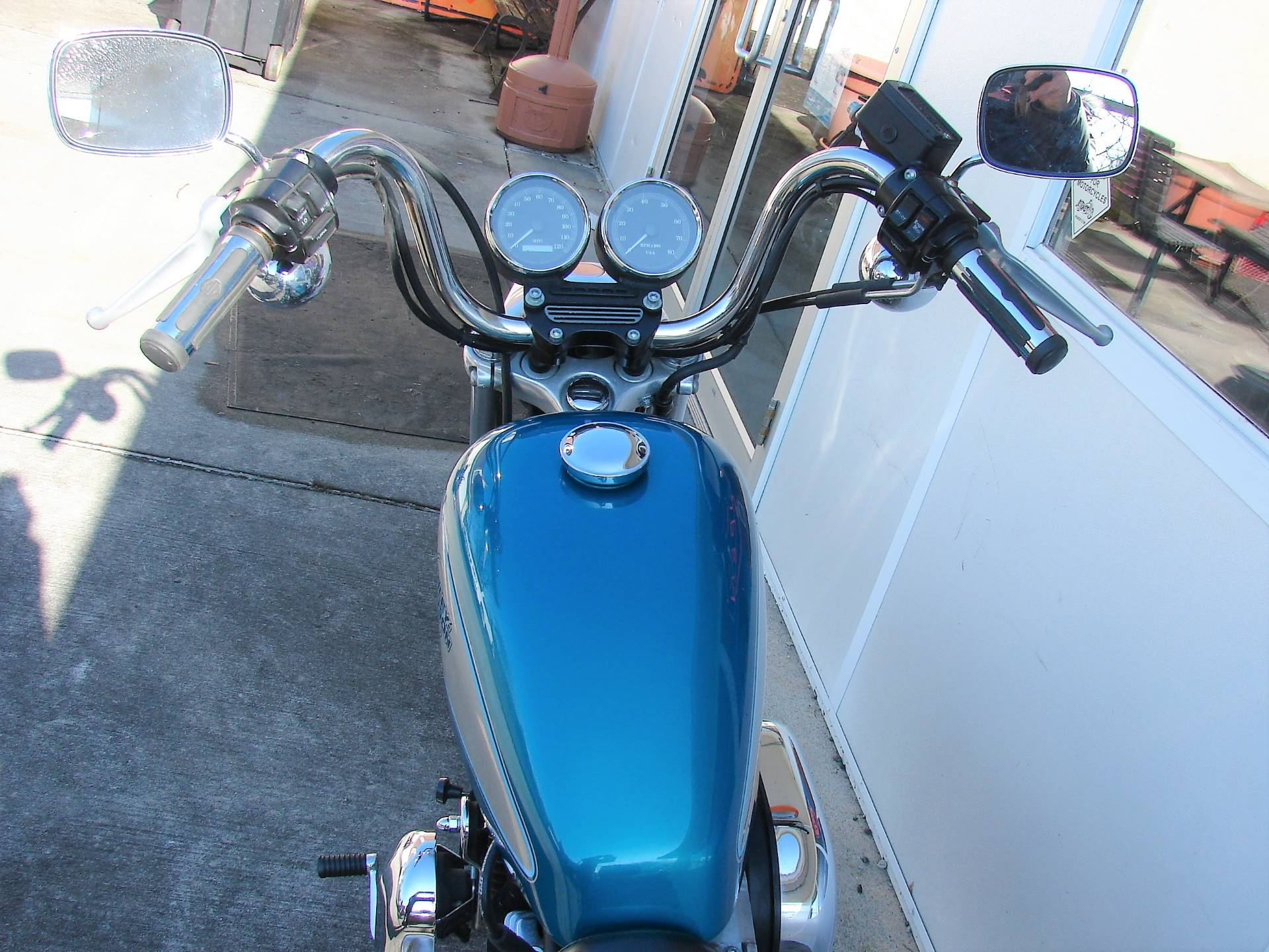 1995 Harley-Davidson 1200 Sportster  (Teal Blue and Silver) in Williamstown, New Jersey - Photo 9
