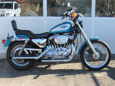 1995 Harley-Davidson 1200 Sportster  (Teal Blue and Silver) in Williamstown, New Jersey - Photo 10