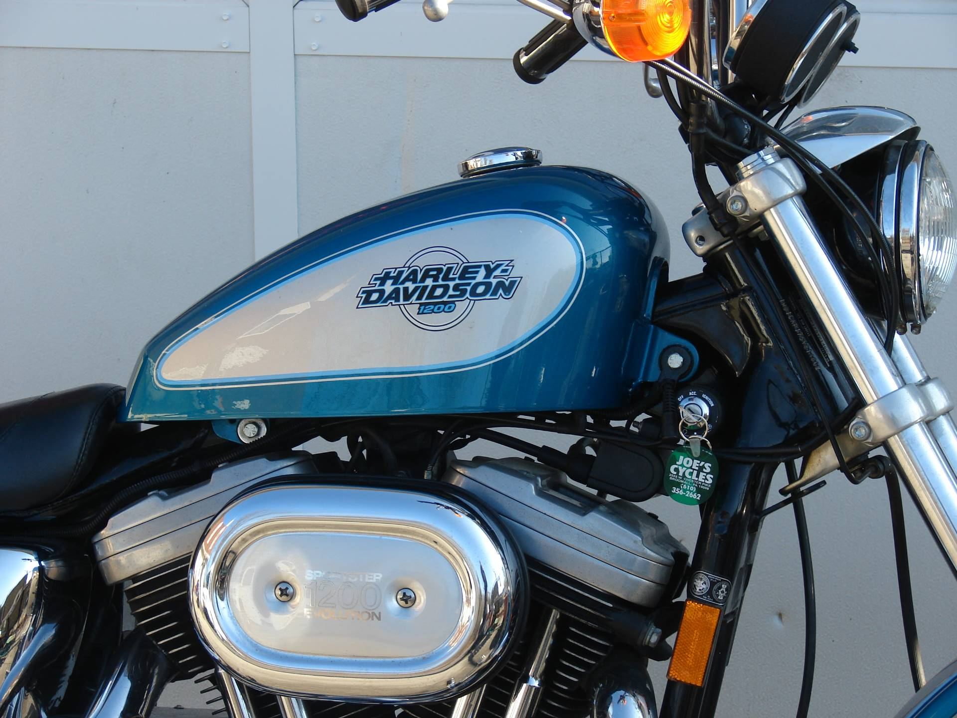 1995 Harley-Davidson 1200 Sportster  (Teal Blue and Silver) in Williamstown, New Jersey - Photo 12