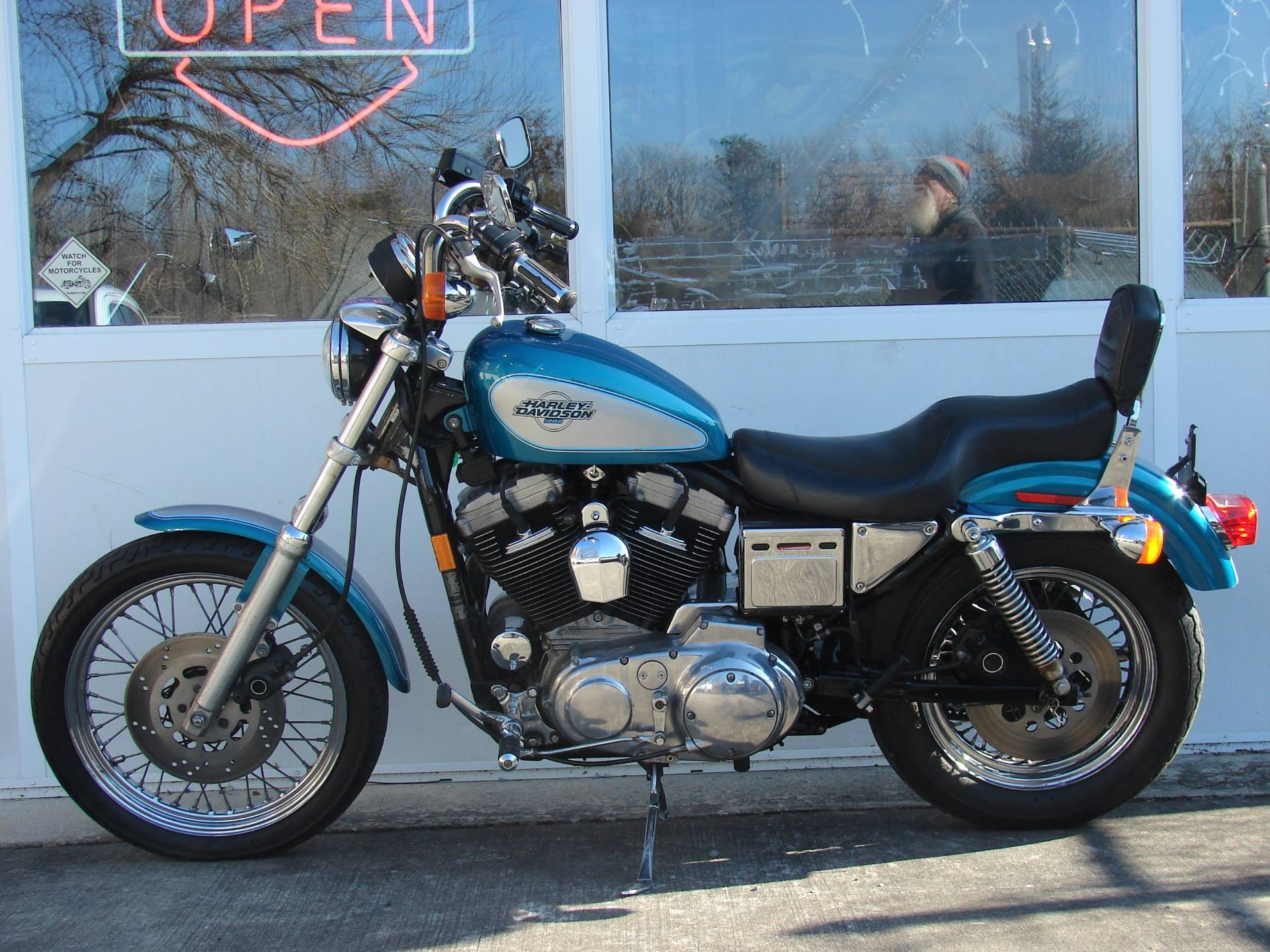 1995 Harley-Davidson 1200 Sportster  (Teal Blue and Silver) in Williamstown, New Jersey - Photo 14