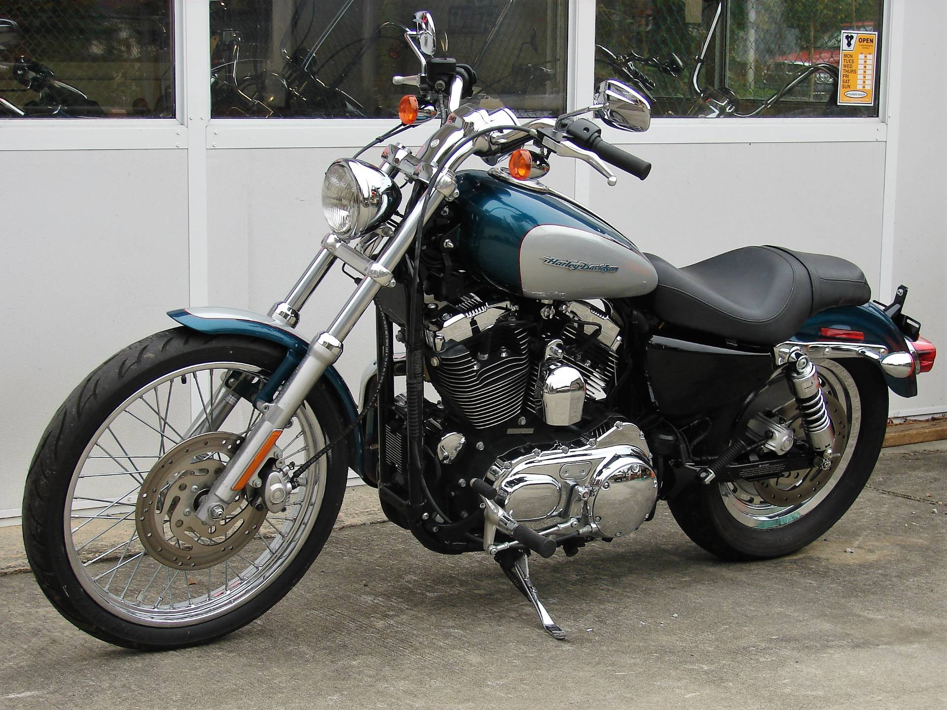 2004 Harley-Davidson Sportster XL 1200 Custom in Williamstown, New Jersey - Photo 10