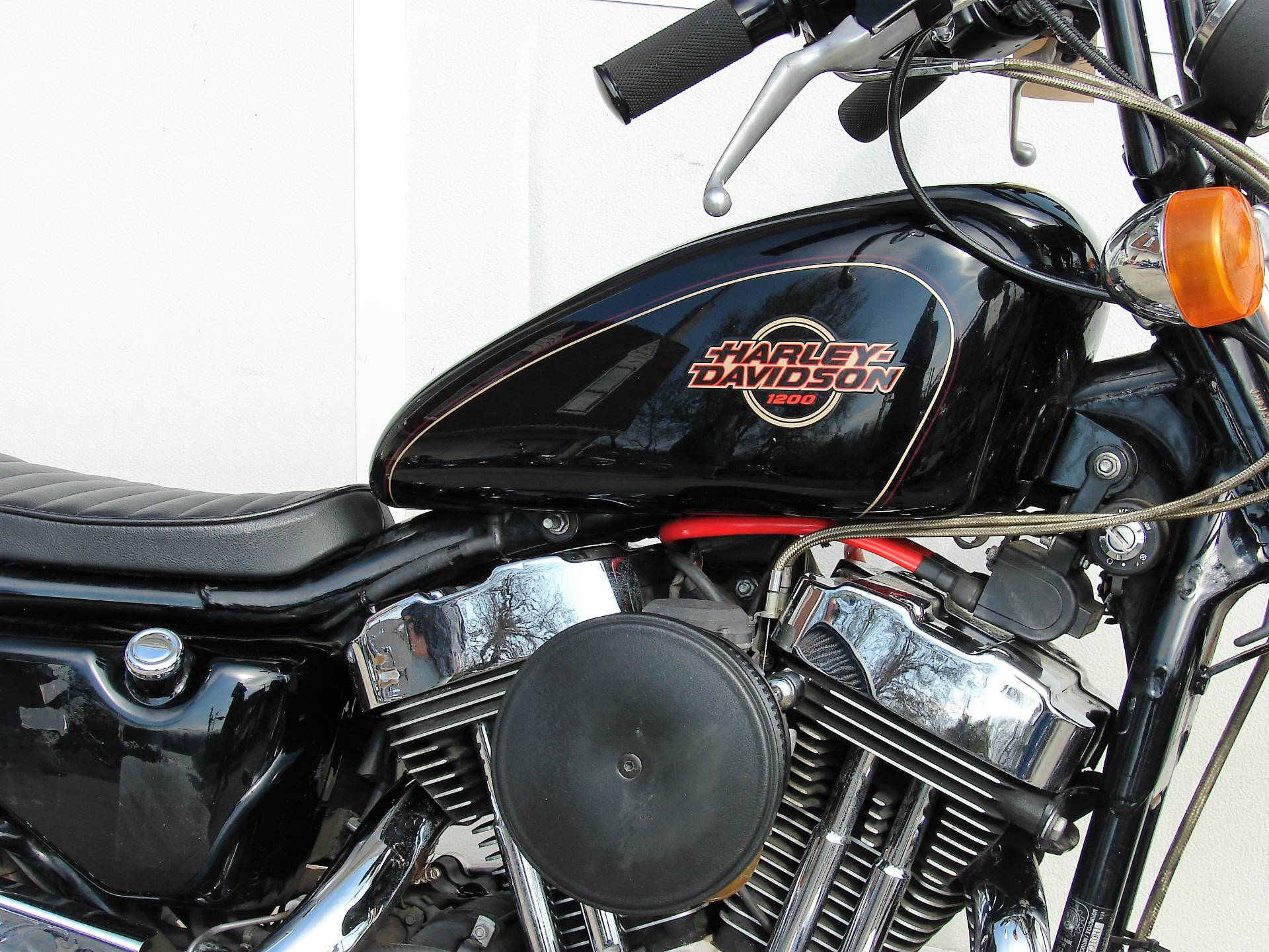 1996 Harley-Davidson XL 1200 Sportster  (Black) in Williamstown, New Jersey