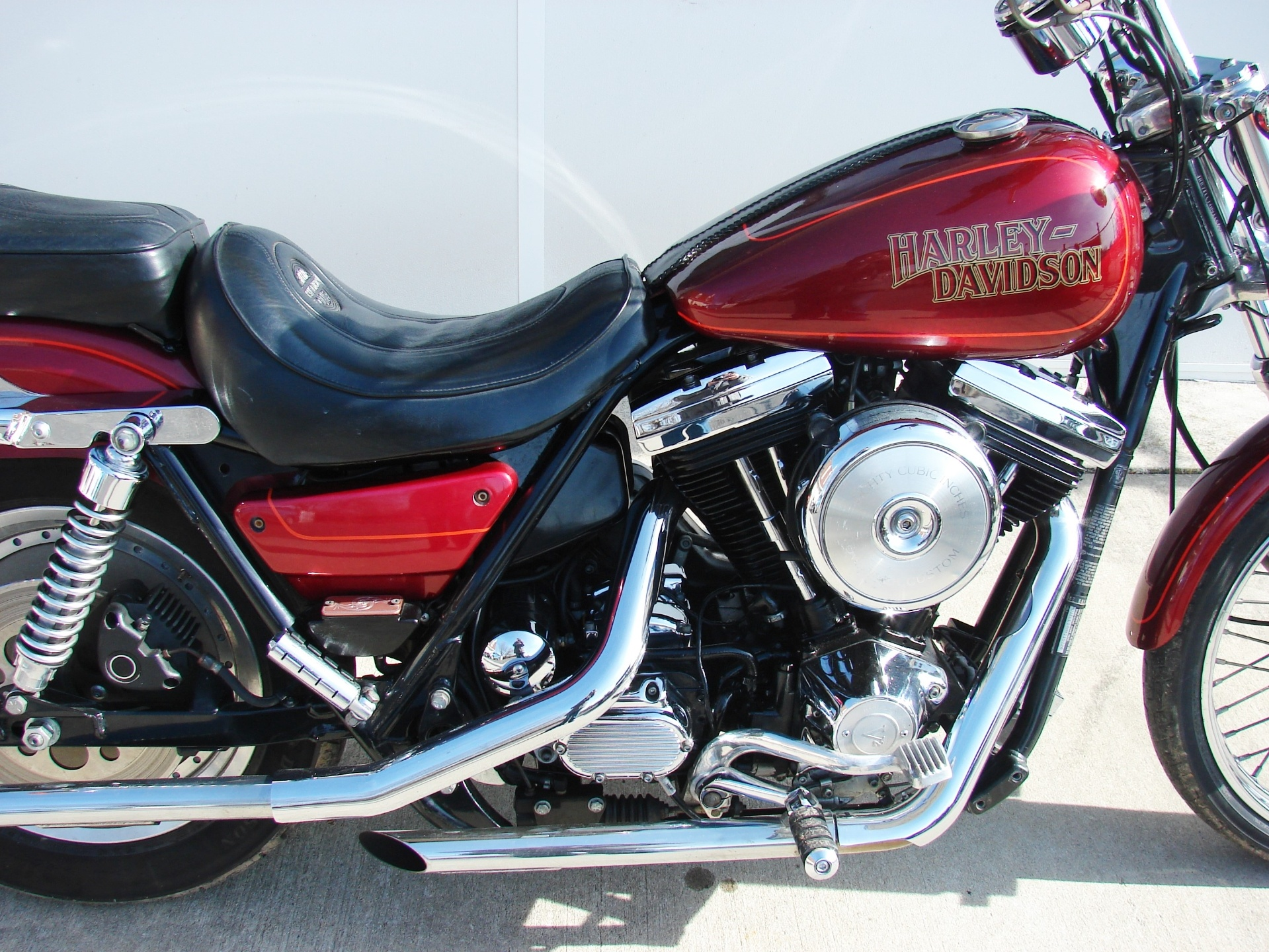Used 1987 harley davidson fxr custom with 1340cc motor for Harley davidson motor credit
