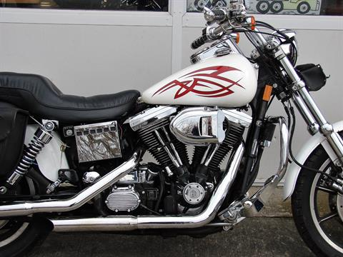 1995 Harley-Davidson Harley FXDL Dyna Low Rider  (White with Red Tribal) in Williamstown, New Jersey - Photo 2