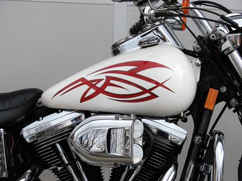 1995 Harley-Davidson Harley FXDL Dyna Low Rider  (White with Red Tribal) in Williamstown, New Jersey - Photo 3