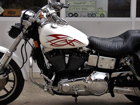 1995 Harley-Davidson Harley FXDL Dyna Low Rider  (White with Red Tribal) in Williamstown, New Jersey - Photo 10