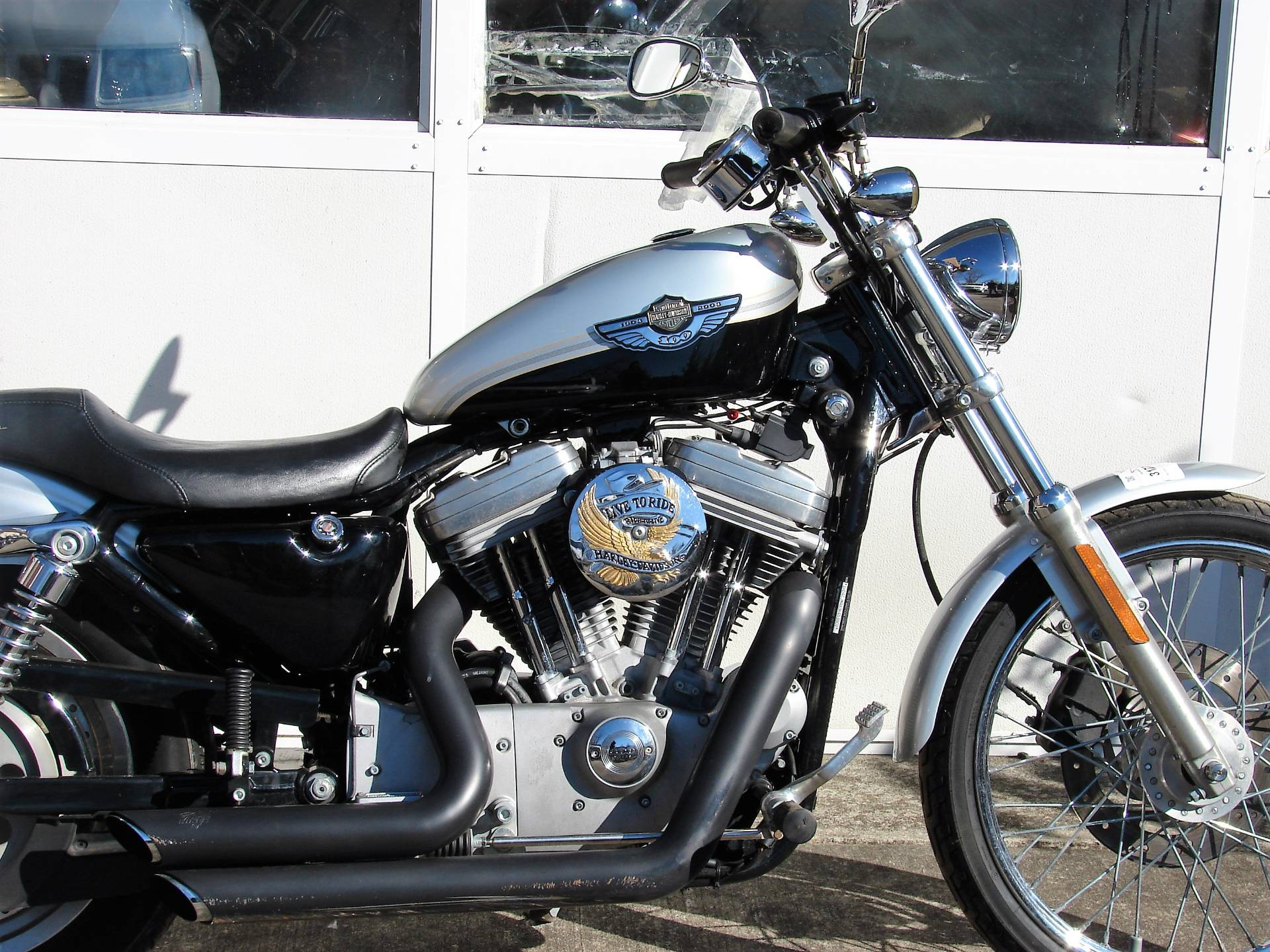 2003 Harley-Davidson XL 883 Sportster Custom in Williamstown, New Jersey - Photo 2