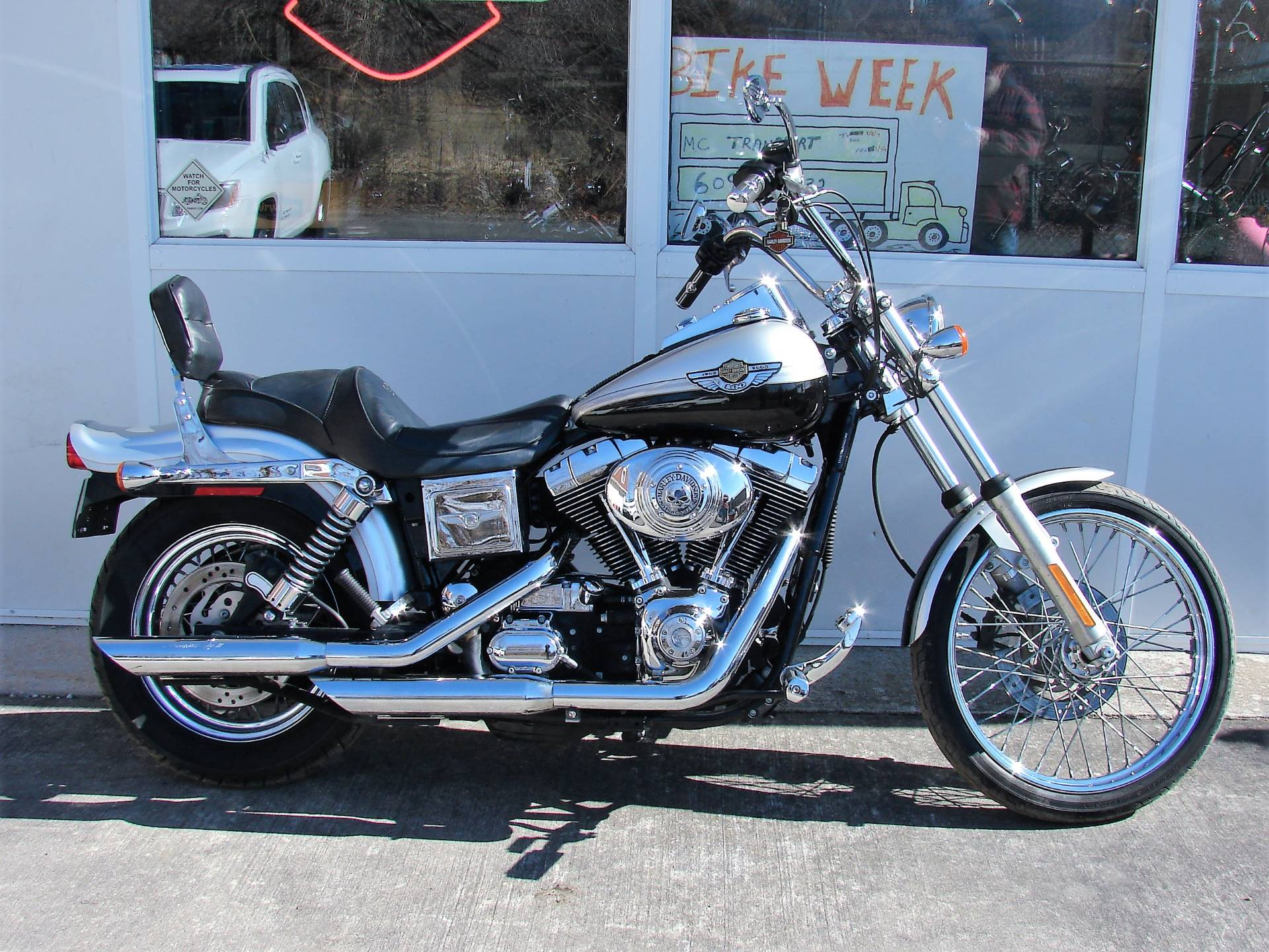 2003 Harley-Davidson FXDWG Dyna Wide Glide (Anniversary Edition) in Williamstown, New Jersey