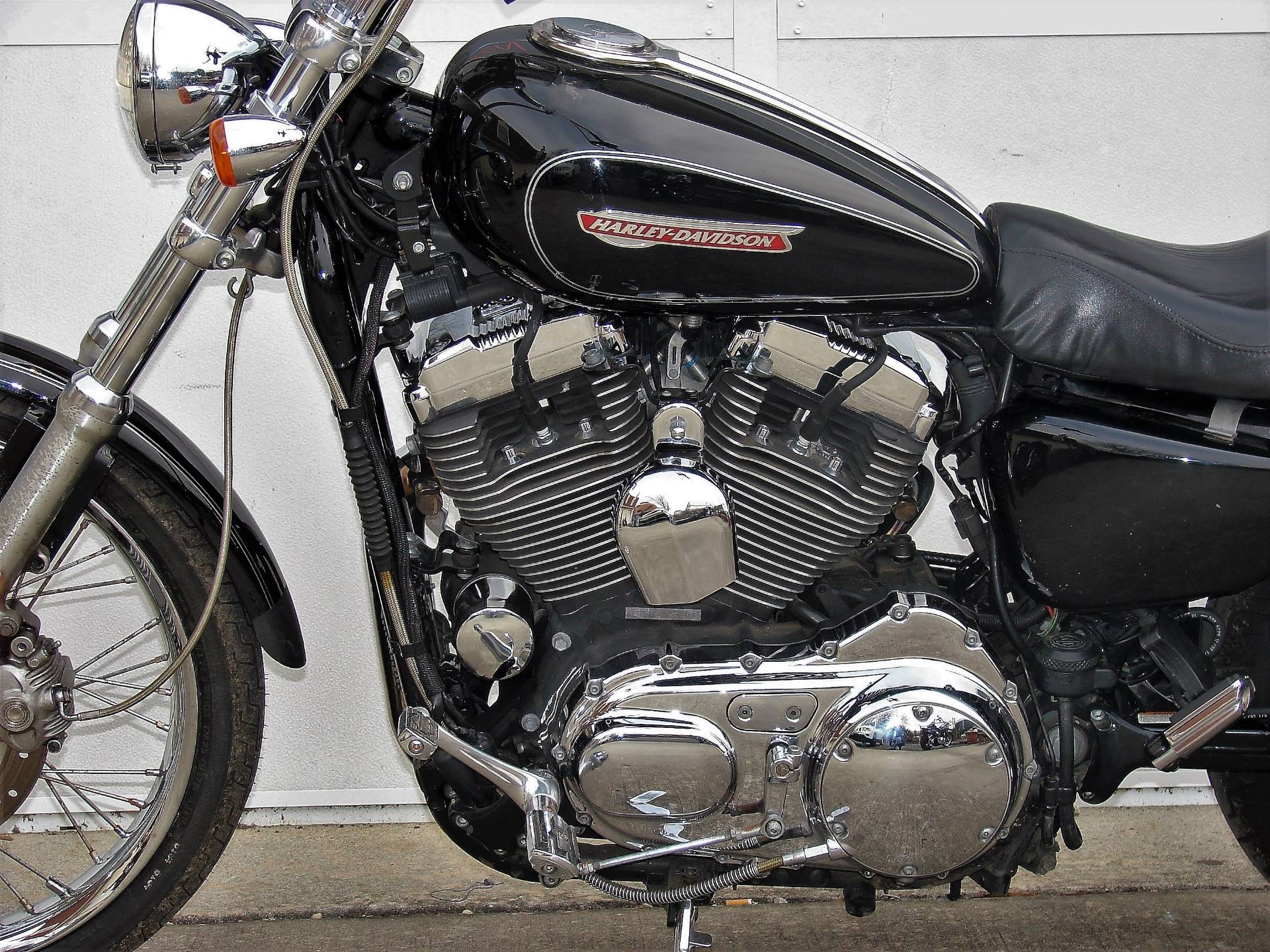 2008 Harley-Davidson 1200cc Sportster  (Black with Silver Pinstripe) in Williamstown, New Jersey