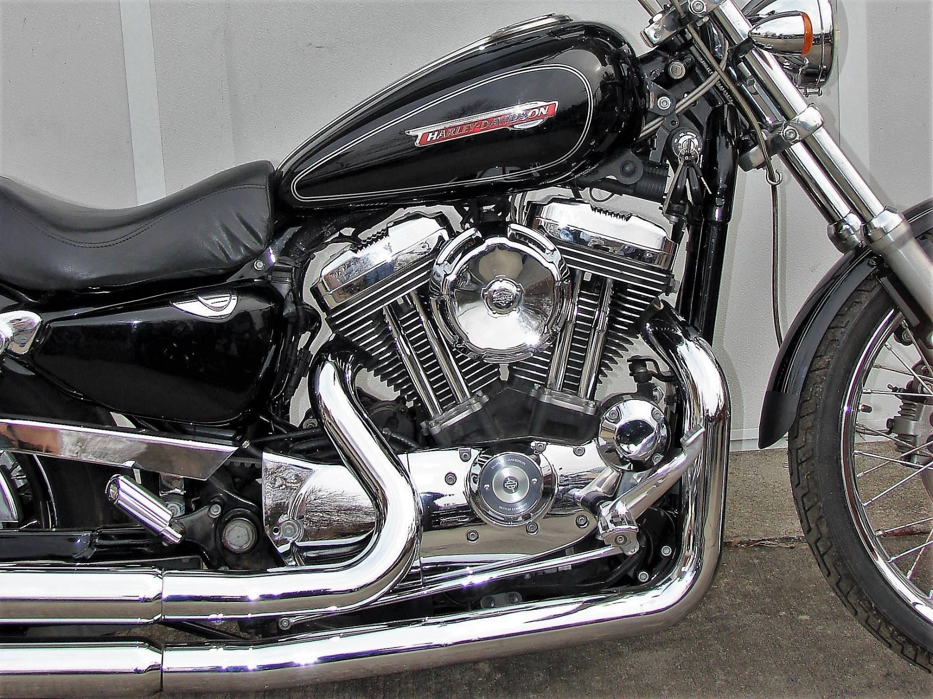 2008 Harley-Davidson 1200cc Sportster  (Black with Silver Pinstripe) in Williamstown, New Jersey - Photo 10