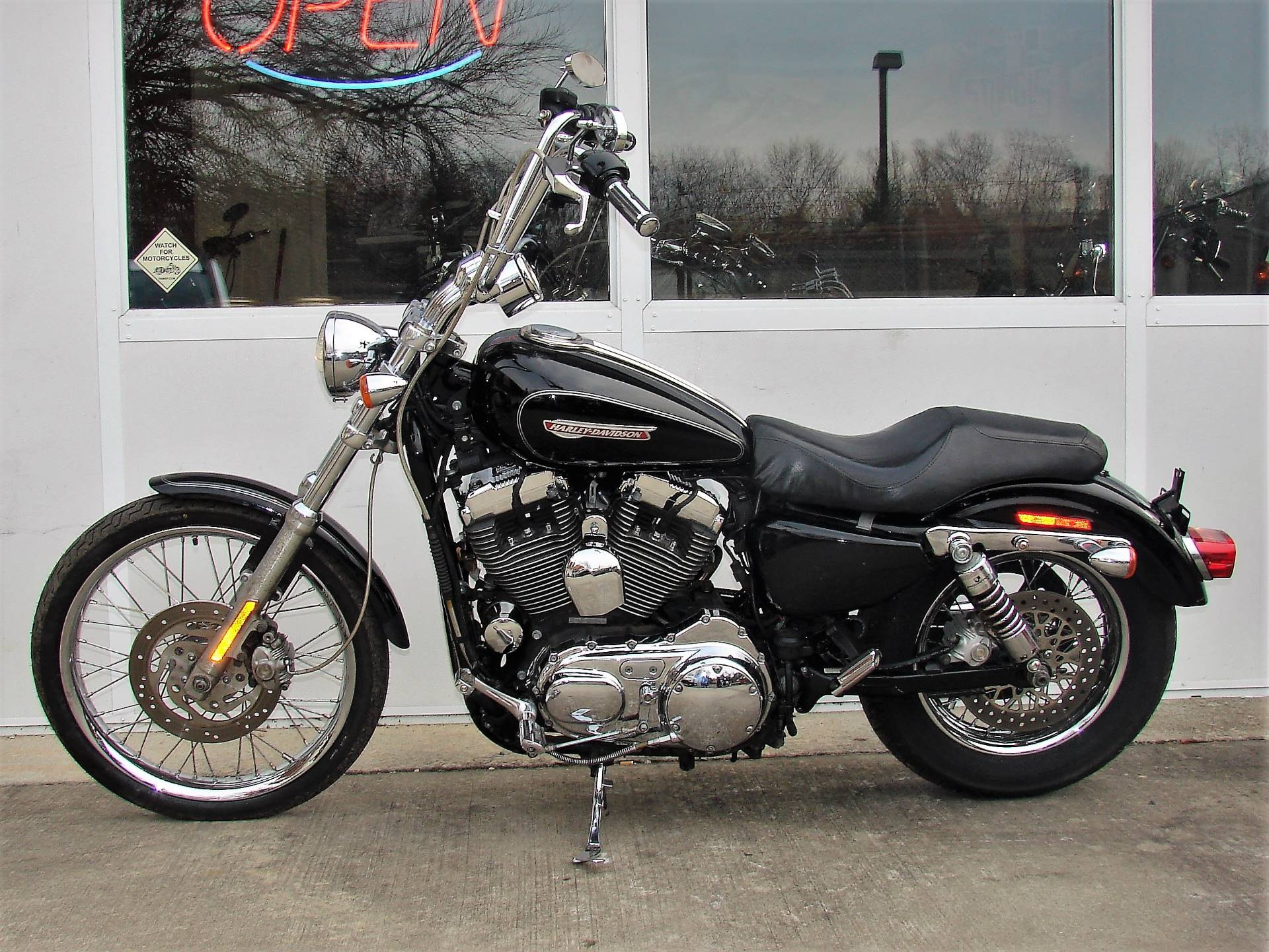 2008 Harley-Davidson 1200cc Sportster  (Black with Silver Pinstripe) in Williamstown, New Jersey - Photo 13