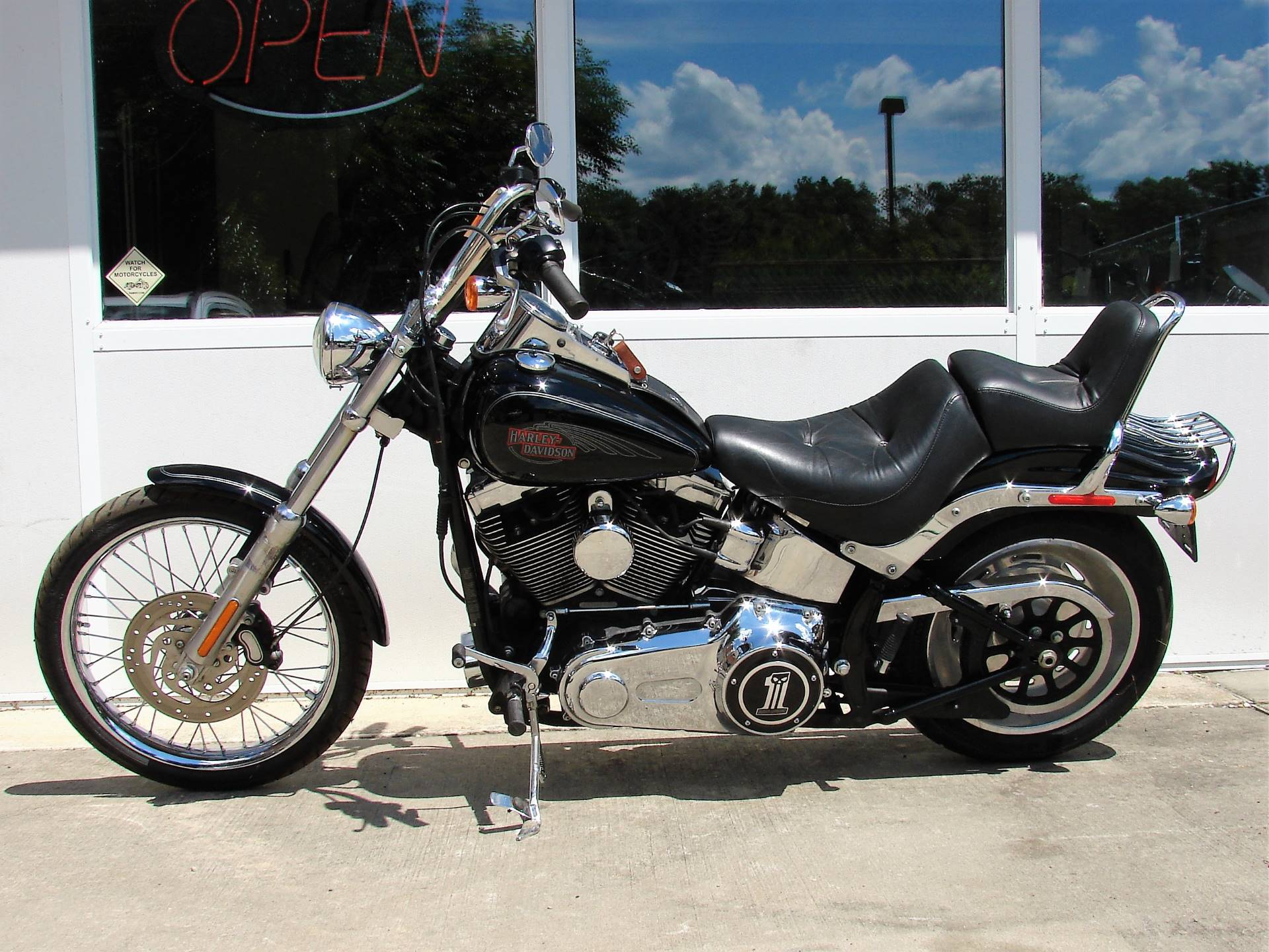 2008 Harley-Davidson Softail Custom - (Vivid Black) in Williamstown, New Jersey