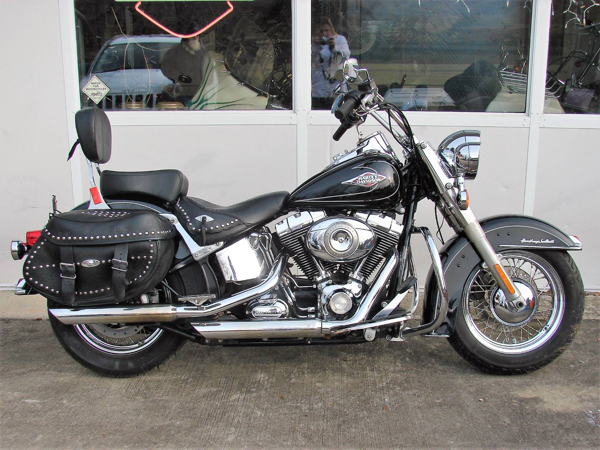 2011 Harley-Davidson FLSTC Heritage Softail in Williamstown, New Jersey - Photo 1