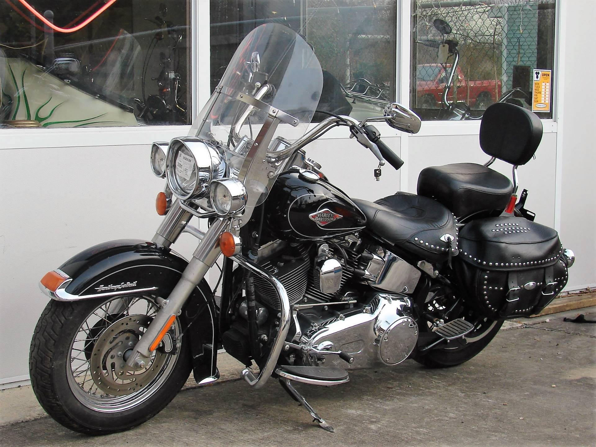 2011 Harley-Davidson FLSTC Heritage Softail in Williamstown, New Jersey - Photo 14