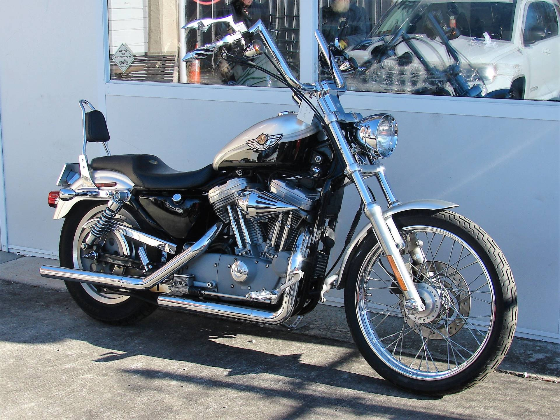 2003 Harley-Davidson XLH 883 Sportster (Anniversary Edition) (Silver & Black) in Williamstown, New Jersey - Photo 4