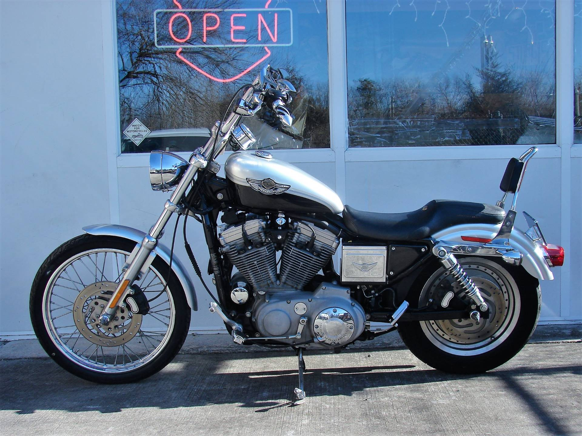 2003 Harley-Davidson XLH 883 Sportster (Anniversary Edition) (Silver & Black) in Williamstown, New Jersey - Photo 6