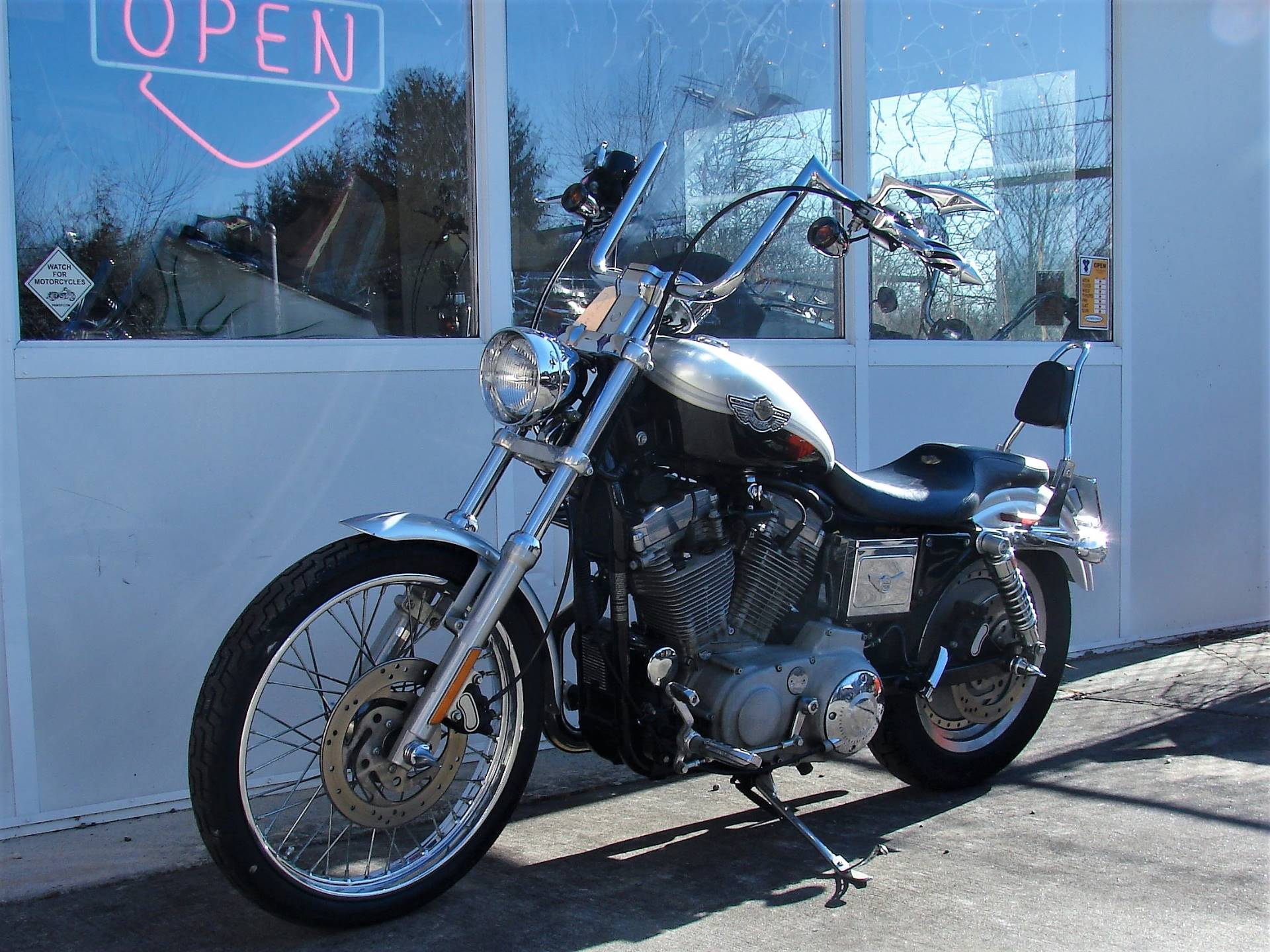 2003 Harley-Davidson XLH 883 Sportster (Anniversary Edition) (Silver & Black) in Williamstown, New Jersey - Photo 8
