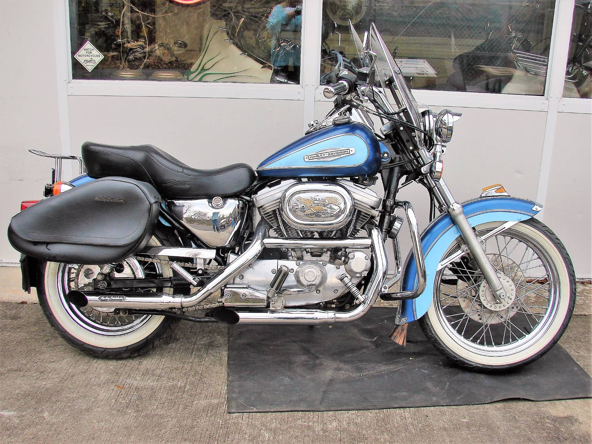 1989 Harley-Davidson XLH 883 Sportster (w/ Touring Conversion) in Williamstown, New Jersey - Photo 1