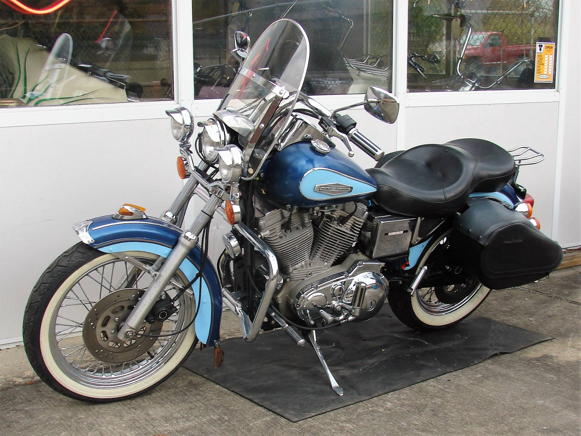 1989 Harley-Davidson XLH 883 Sportster (w/ Touring Conversion) in Williamstown, New Jersey - Photo 11