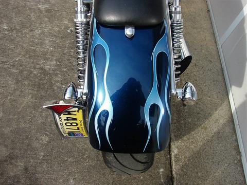 2001 Big Dog Motorcycles Big Dog Boxer  (with custom Blue Flame paint Job) in Williamstown, New Jersey