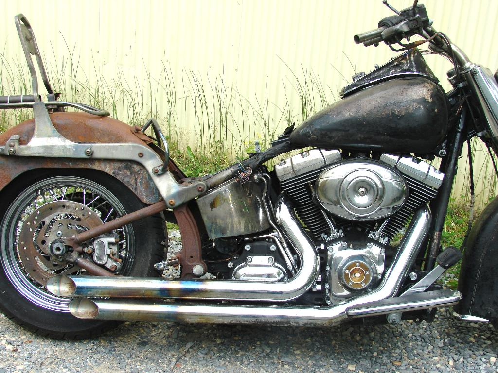 2008 Harley-Davidson Softail Deluxe -  (Project Bike - Was in a Garage Fire) in Williamstown, New Jersey