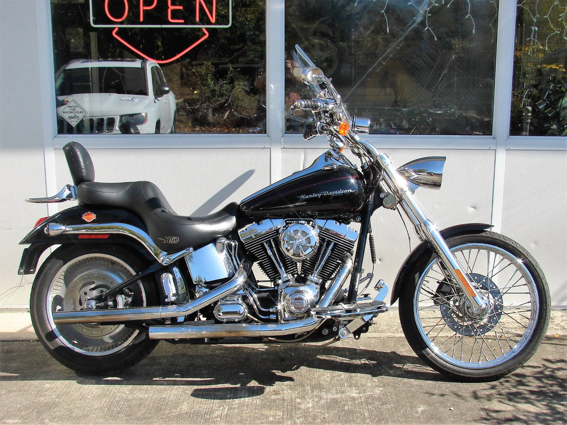 2001 Harley-Davidson FXSTD/I Softail Deuce in Williamstown, New Jersey - Photo 12