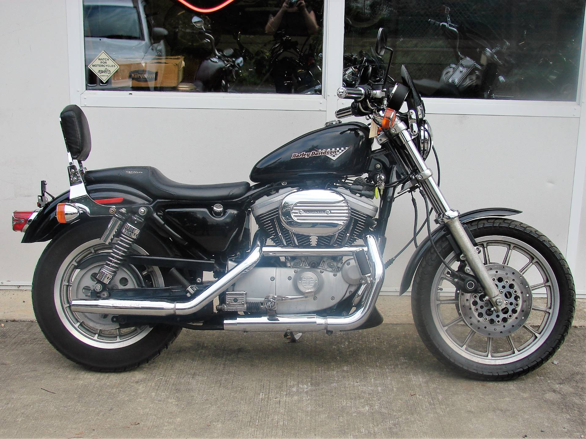 1998 Harley-Davidson XL 1200cc Sportster Sport  -  (Black w/ Maroon Logo) in Williamstown, New Jersey - Photo 1