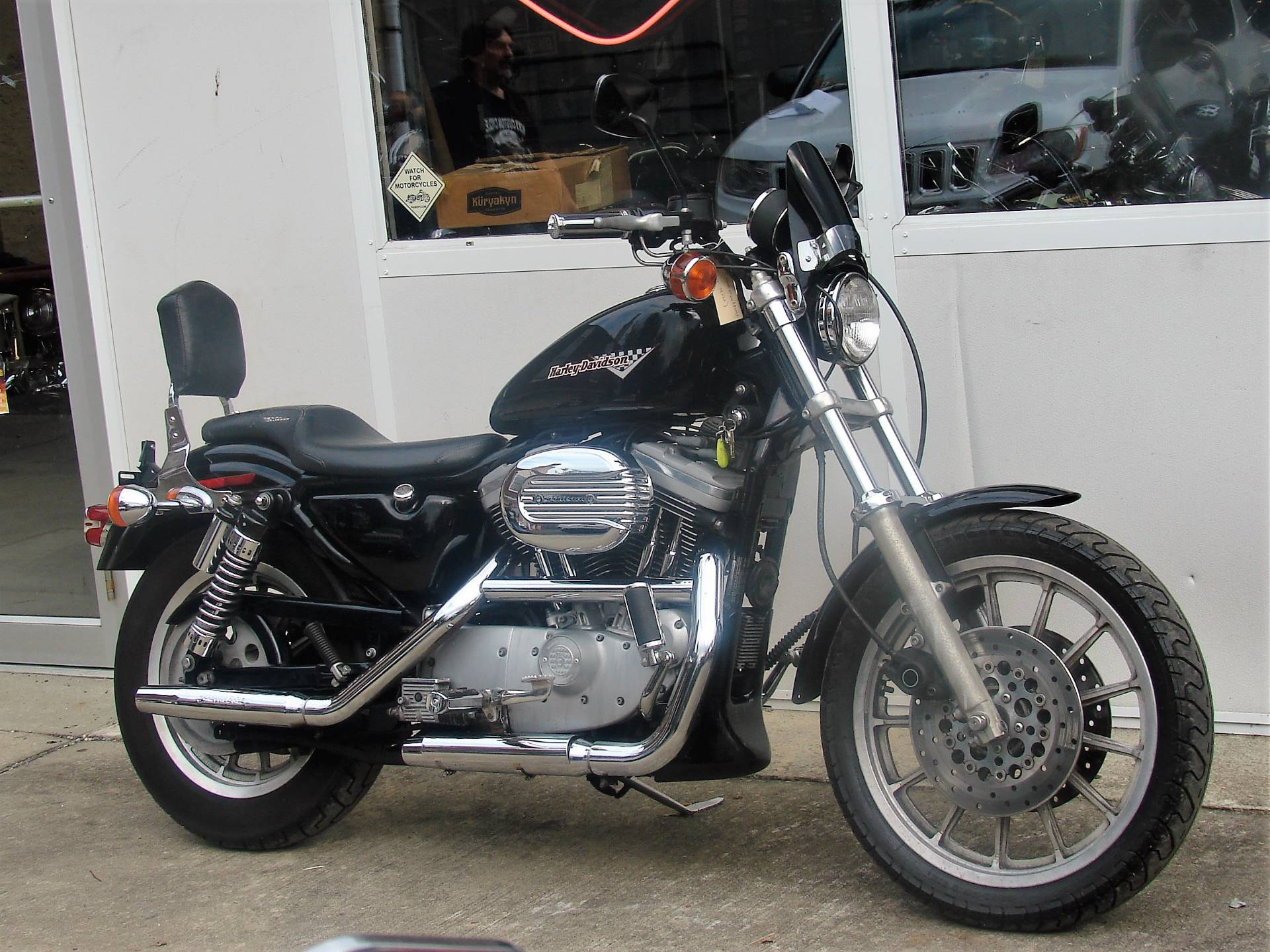 1998 Harley-Davidson XL 1200cc Sportster Sport  -  (Black w/ Maroon Logo) in Williamstown, New Jersey - Photo 5