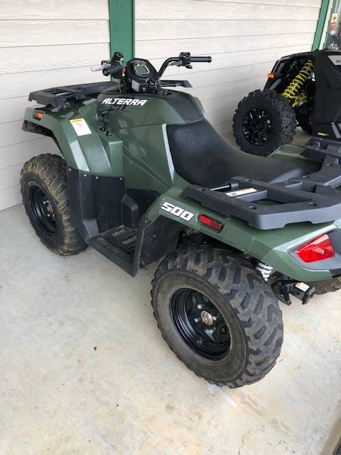 2018 Arctic Cat Alterra 500 in Elizabethton, Tennessee