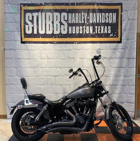 2016 Harley-Davidson STREET BOB in Houston, Texas - Photo 1