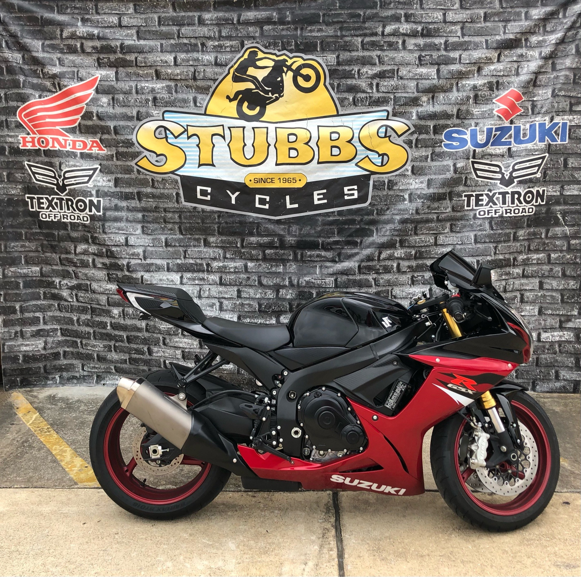 2018 Suzuki GSX-R750 in Houston, Texas - Photo 1
