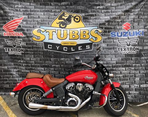 2016 Indian Scout® Sixty in Houston, Texas - Photo 1