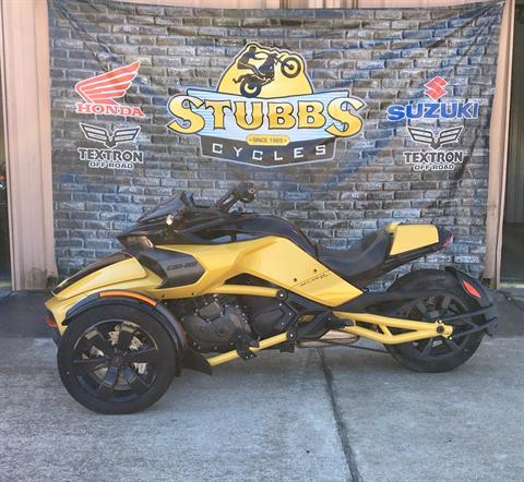 2016 Can-Am Spyder F3 SE6 in Houston, Texas - Photo 2