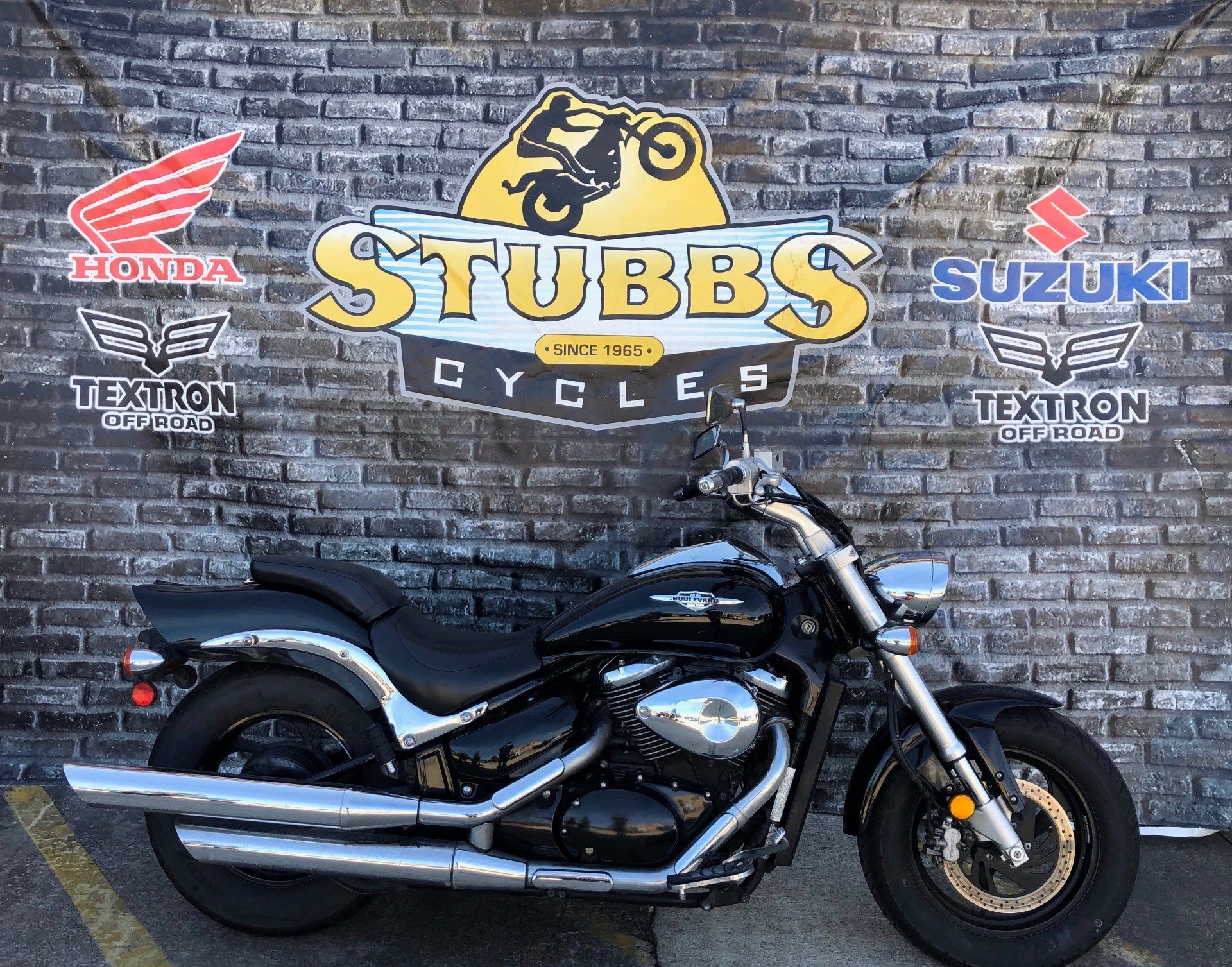 2005 Suzuki Boulevard M50 Black in Houston, Texas - Photo 1
