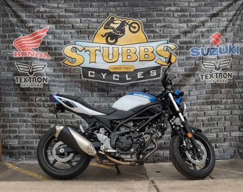 2018 Suzuki SV650 in Houston, Texas - Photo 1