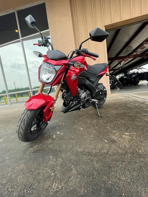 2018 Kawasaki Z125 Pro in Houston, Texas - Photo 1