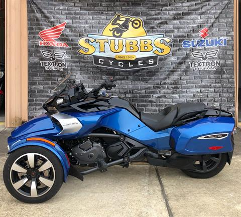 2018 Can-Am Spyder F3-T in Houston, Texas - Photo 2