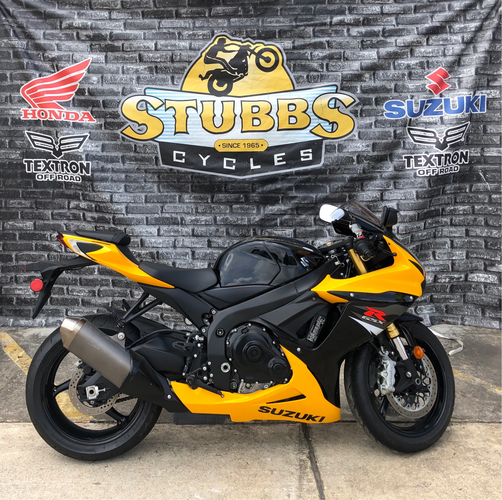 2017 Suzuki GSX-R750 in Houston, Texas - Photo 1