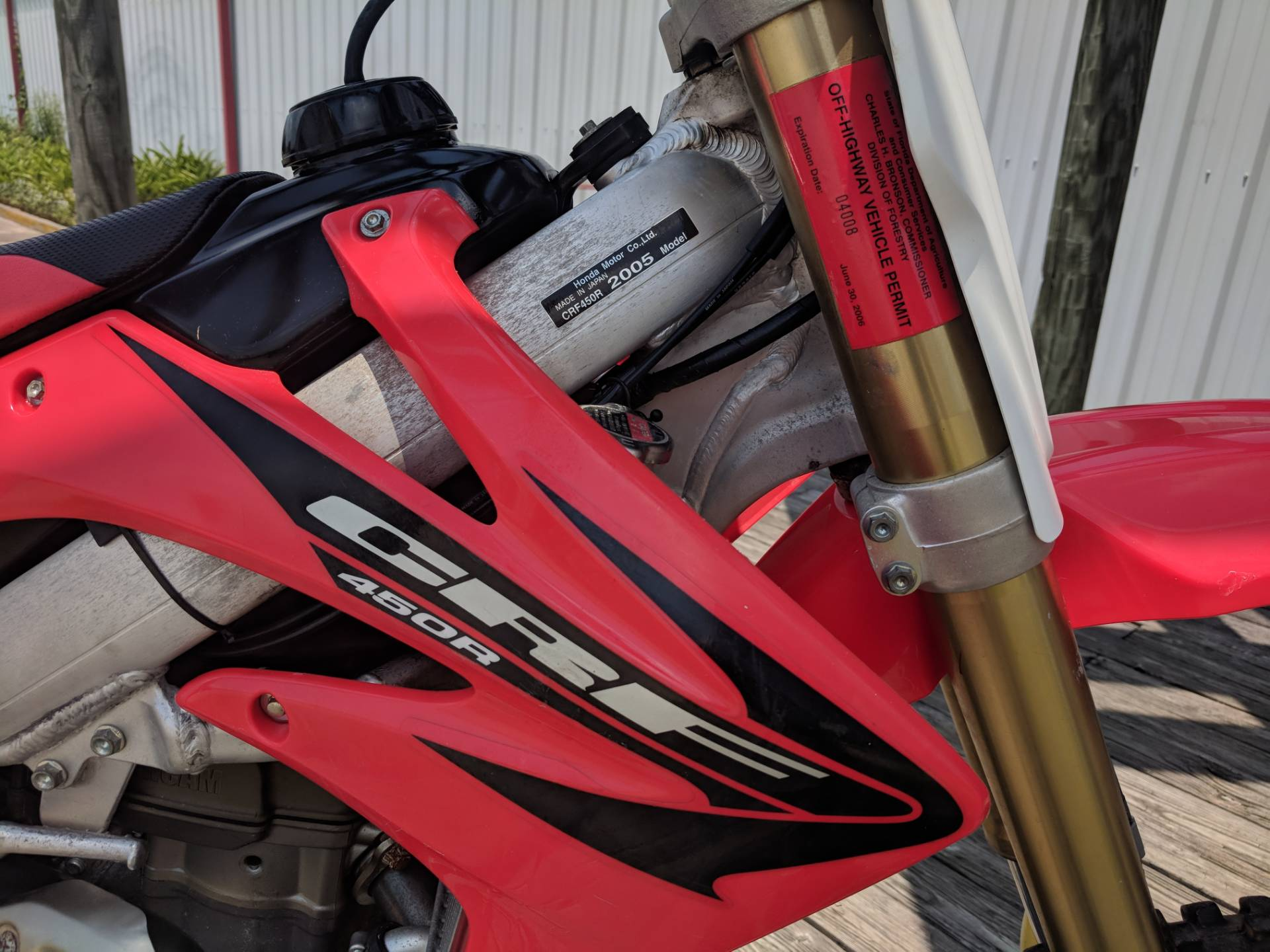 2005 Honda CRF™450R in Lafayette, Louisiana - Photo 10