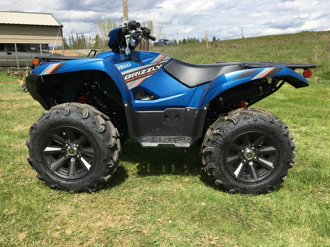 2019 Yamaha Grizzly EPS SE in Sandpoint, Idaho