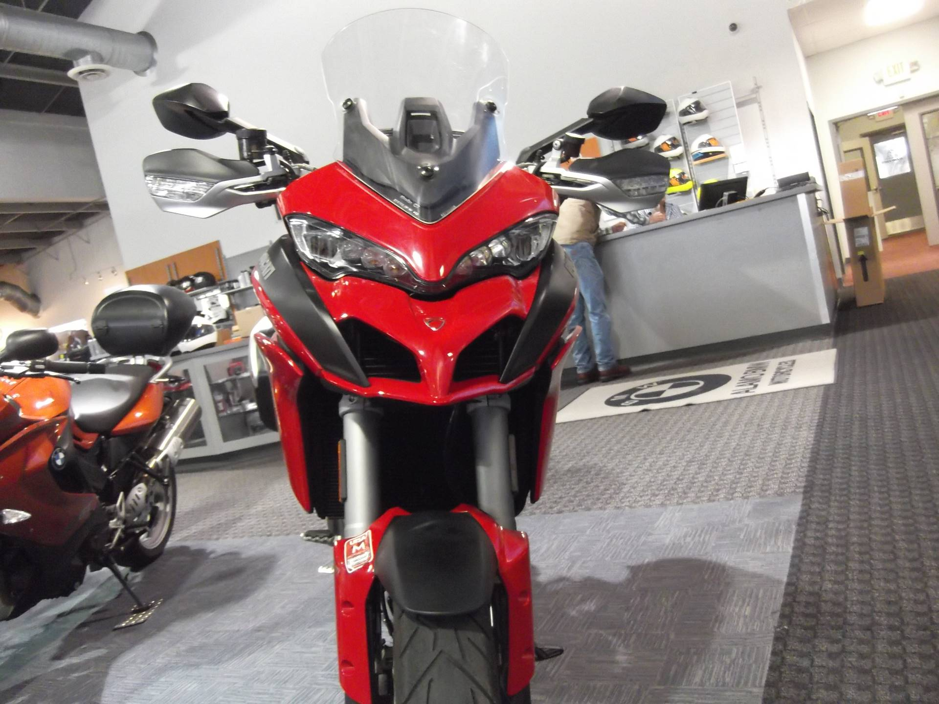 2015 Ducati Multistrada 1200S Touring in Boerne, Texas
