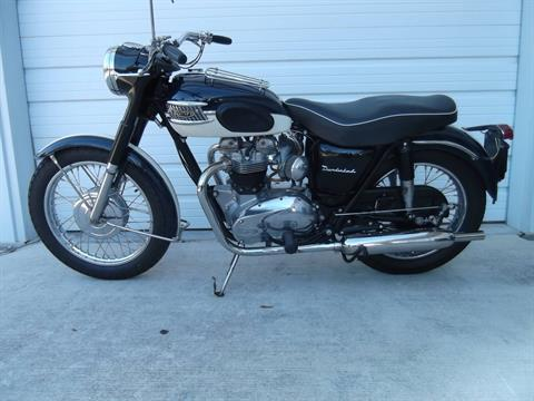 1964 Triumph Bonneville with a nice bit of Thunderbird DNA in Boerne, Texas