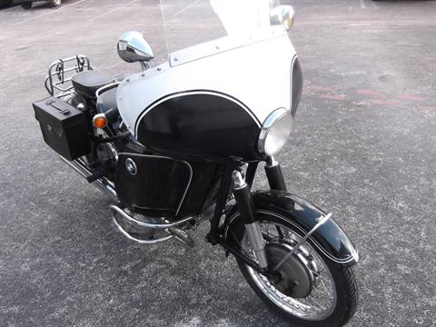 1965 BMW R50/2 with RARE  Heinrich Fairing and Hoska 2-into-4 exhaust in Boerne, Texas