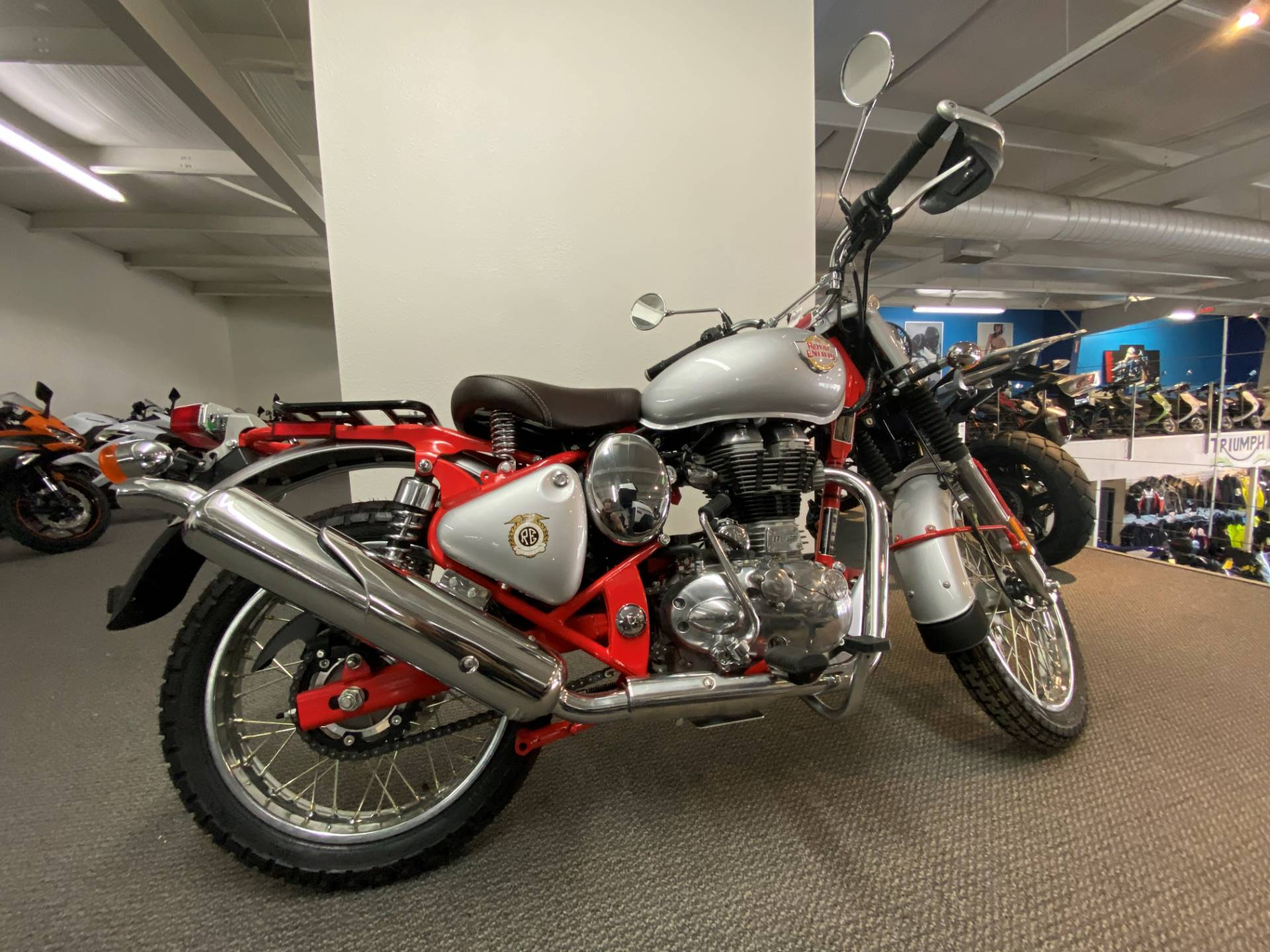 2020 Royal Enfield Bullet Trials Works Replica 500 Limited Edition in Iowa City, Iowa - Photo 1