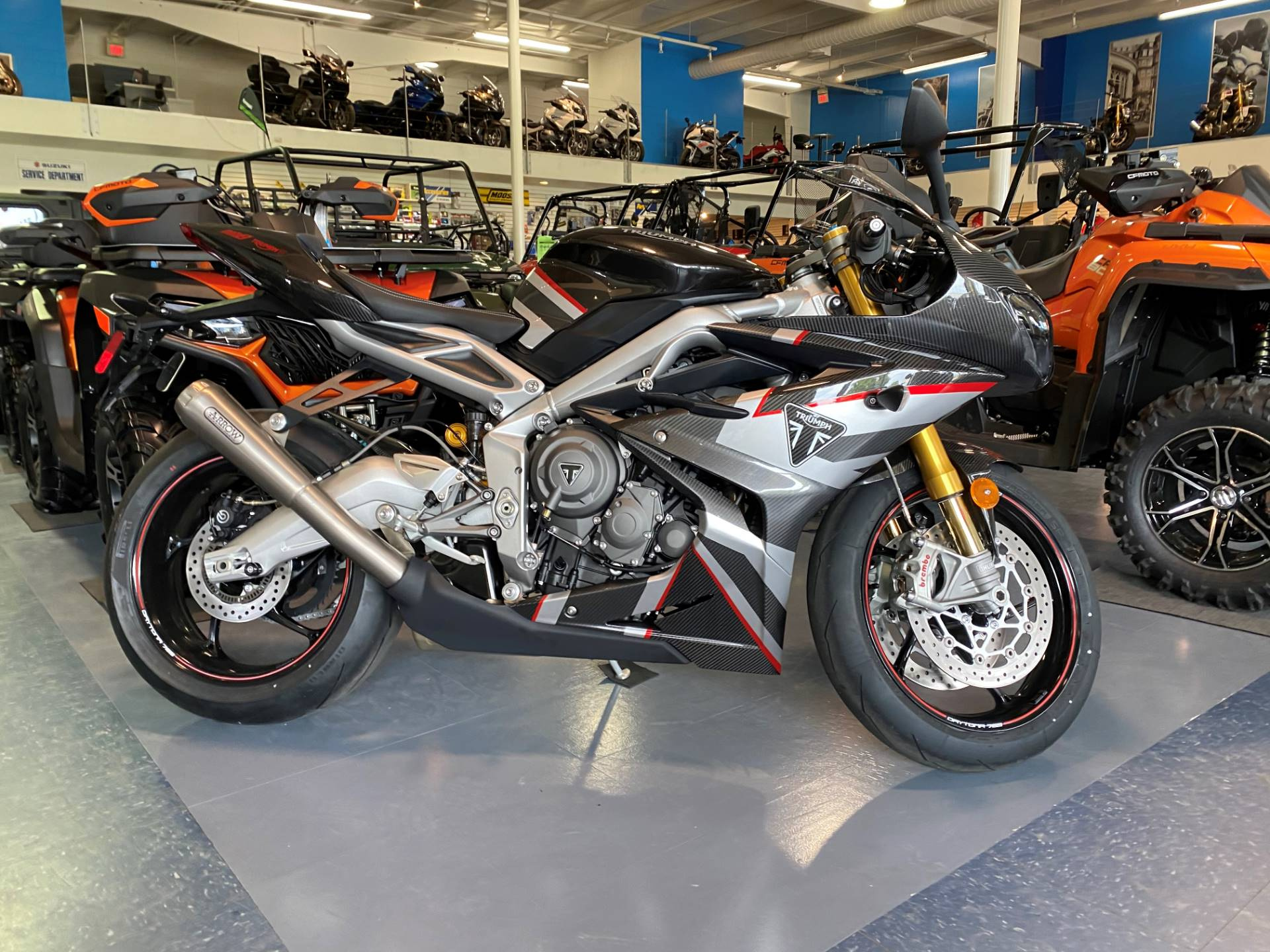 2020 Triumph Daytona Moto 2 Limited Edition in Iowa City, Iowa - Photo 1