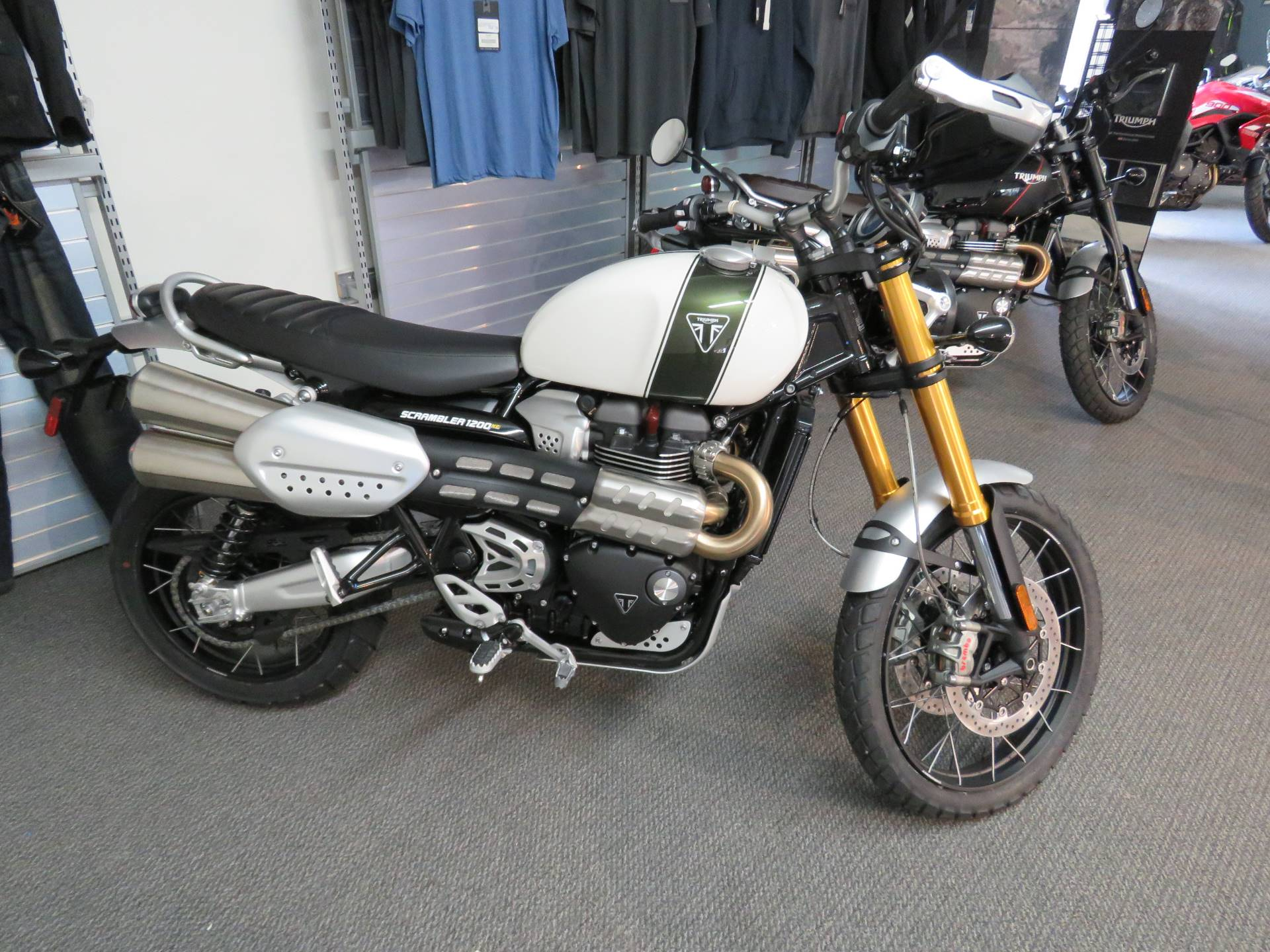 2020 Triumph Scrambler 1200 XE in Iowa City, Iowa - Photo 1