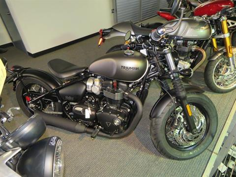 2020 Triumph Bonneville Bobber Black in Iowa City, Iowa - Photo 1