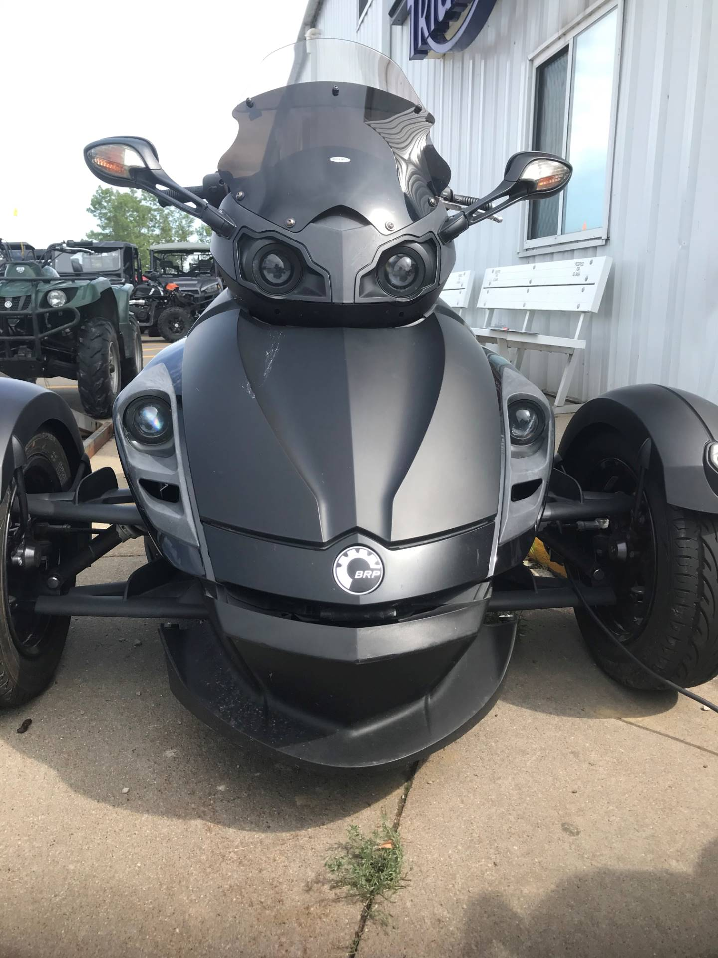 2009 Can-Am Spyder™ GS Phantom Black Limited Edition in Iowa City, Iowa - Photo 2