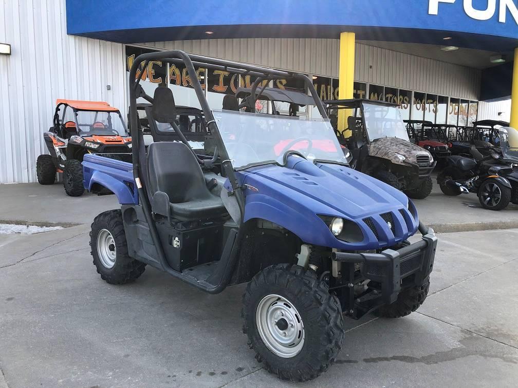 Used 2009 Yamaha Rhino 700 Fi Auto 4x4 Steel Blue Utility